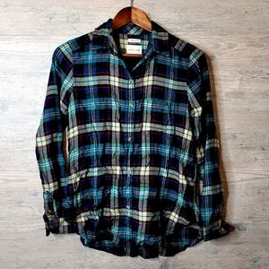 American Eagle Boyfriend Fit Flannel Shirt. Soft!